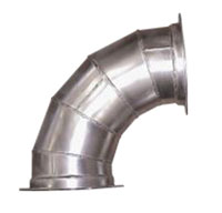 3 Inch (in) Diameter and 90 Degree Angle Stitch Welded Elbow (FESS0390)