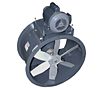 Belt Drive Model B Tube Axial Duct Fans